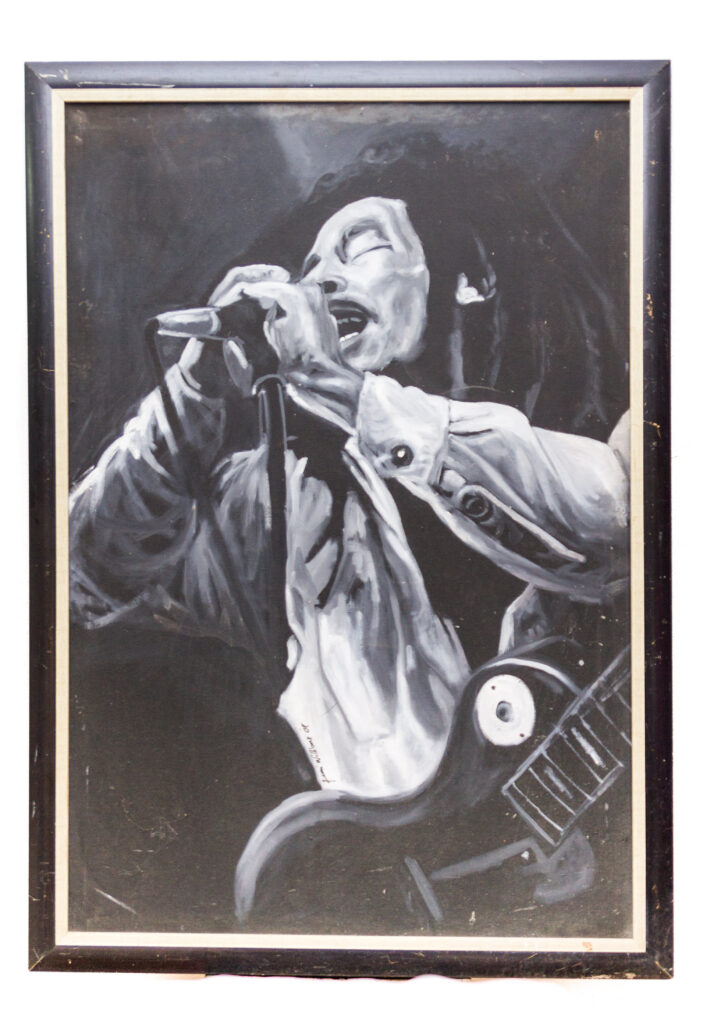 PNT025 Bob Marley 33x47inches by Femi Williams (2008)