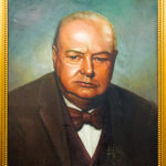 PNT082 Winston Churchill 28x34inches by El Dragg (3)